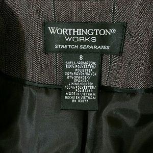 Worthington Jackets & Coats - Worthington Maroon Blazer